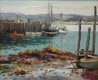 "Grand Manan, N.B., Oil on canvas, 13'' x 16''<span class=""sold"">sold</span>"