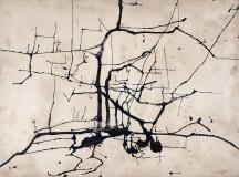 "Untitled, 1951, Ink on paper, 14½'' x 19¾''<span class=""sold"">sold</span>"