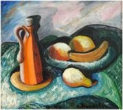 "Nature morte aux fruits, 1943, Oil on canvas, 21'' x 23¾''<span class=""sold"">sold</span>"