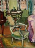 "Study of a drawing room, Peel Street, Oil on canvas, 26'' x 19''<span class=""sold"">sold</span>"