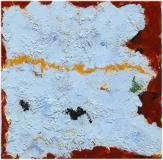 "Untitled, 1963, Oil on panel, 5'' x 5''<span class=""sold"">sold</span>"